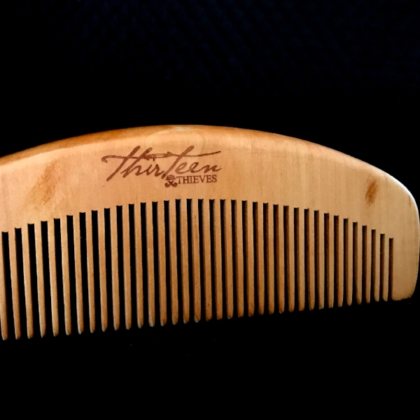 Cherrywood Beard Comb