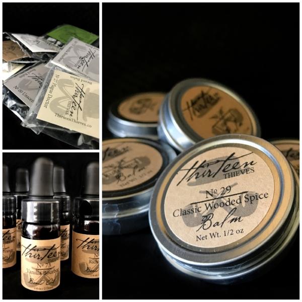 Brandi A Multiple Beard Balm Sample, Scent Sampler, Vanilla Bourbon Beard Oil Sample