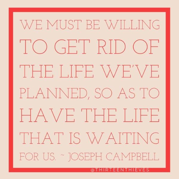 Joseph Campbell Thirteen Thieves Blog