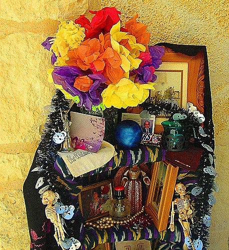 Day of the dead alter