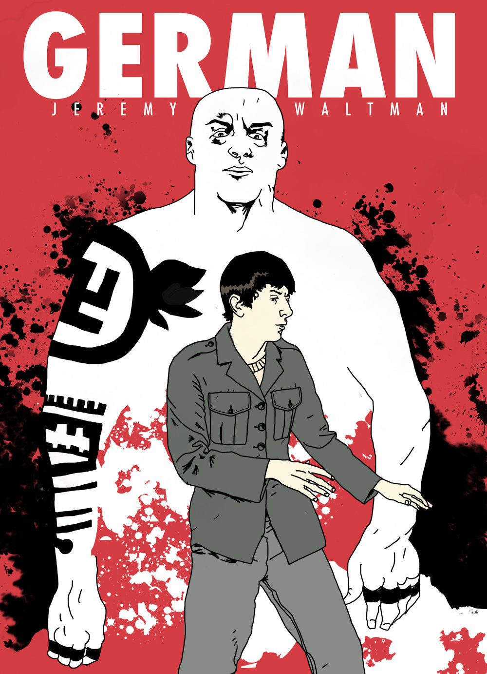 German - GERMANSYNOPSIS: German is a young American trying to lead a quiet life. When he's jumped by Nazis on his way home from work it's up to him to find justice.From the award-winning filmmaker JEREMY WALTMAN comes GERMAN, the definitive edition. This full-color version includes the bonus story