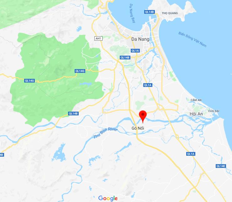 Điện Trung, Điện Bàn, Quảng Nam (arrow).png