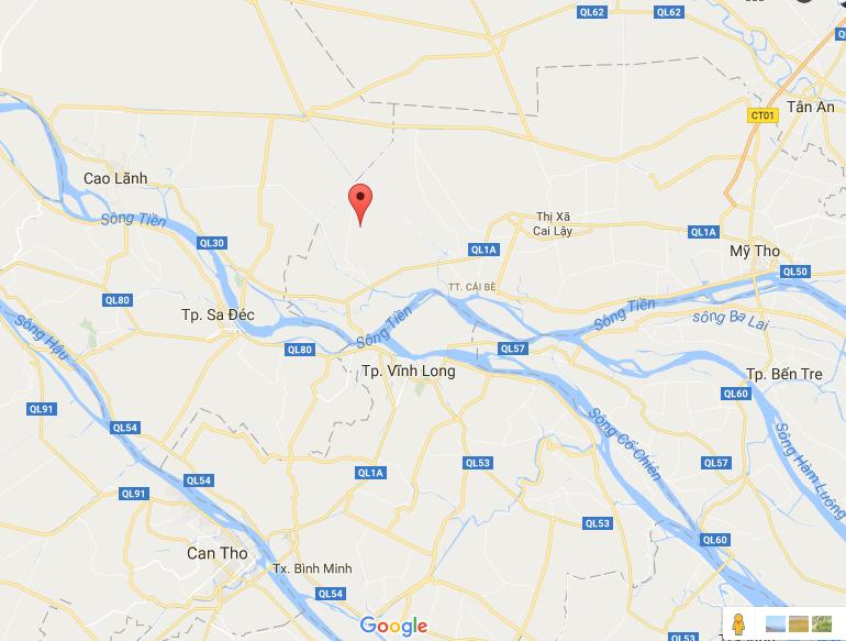 Mỹ Tân, Cái Bè, Tiền Giang (arrow).png