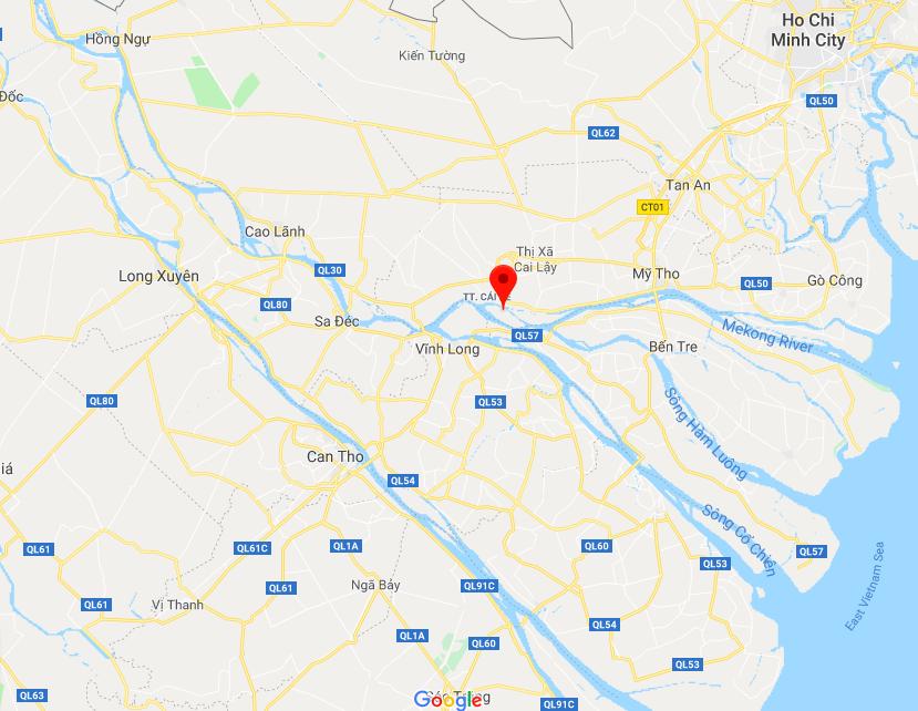 -0a  xã Tân Phong, Tiền Giang on Google.png