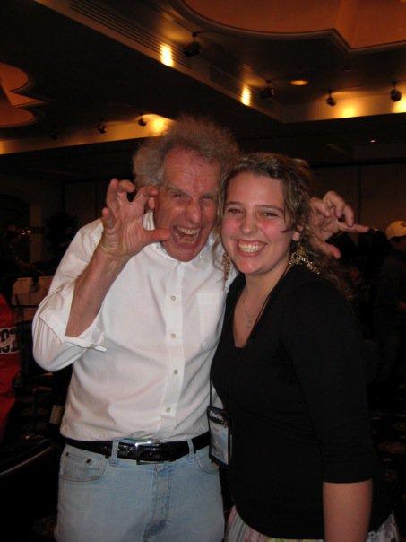 Ben Zander and Bridget, 2010 All State/TMEA convention