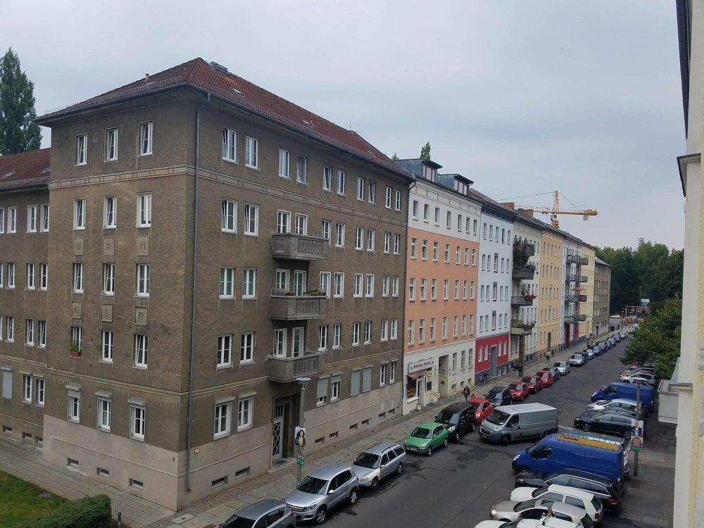 Der Blick aus meinem Fenster // The view from my window