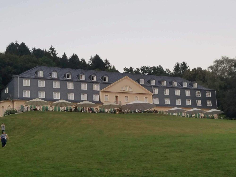 Tagungshotel Maria in der Aue, where we stayed