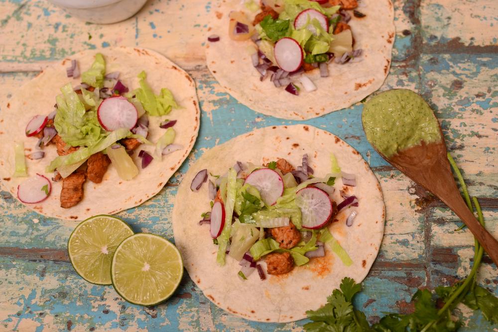 Burritos, Tacos, Nachos. Frisch. Schnell. Gesund.