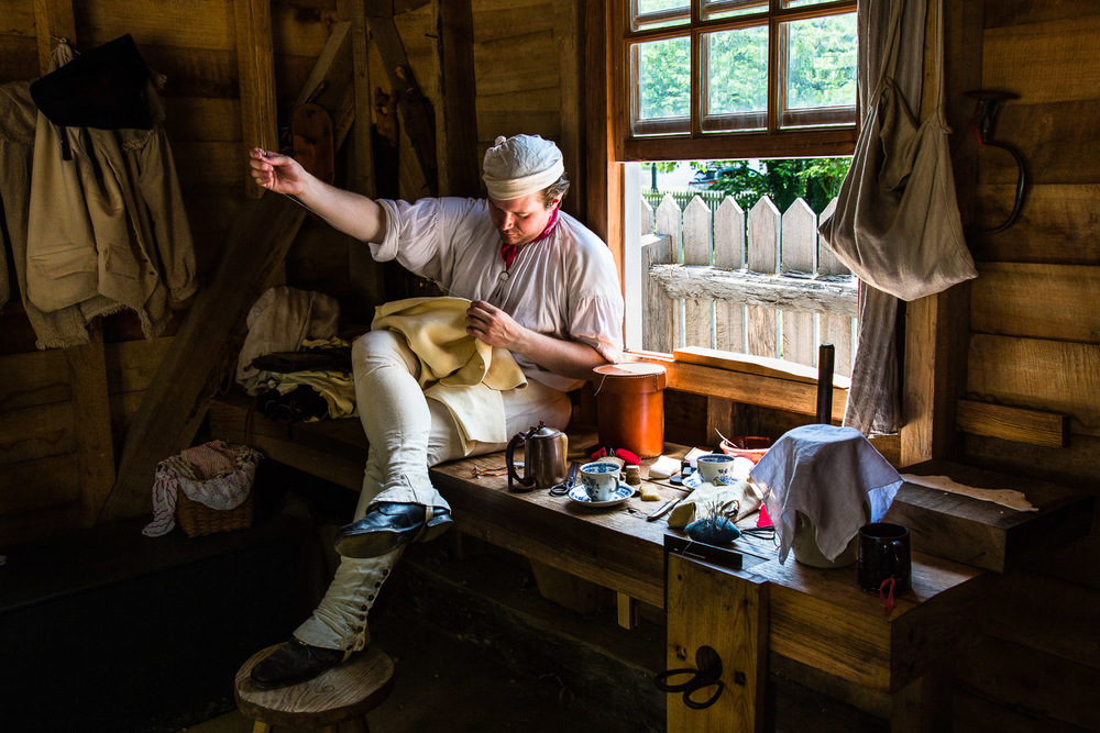 Colonial Tailor Williamsburg, Virginia