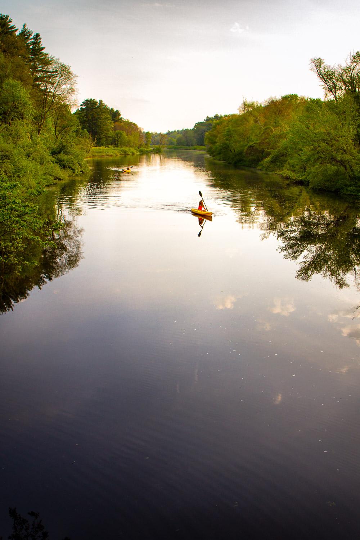 Taking To The River   Ipswich, Massachusetts