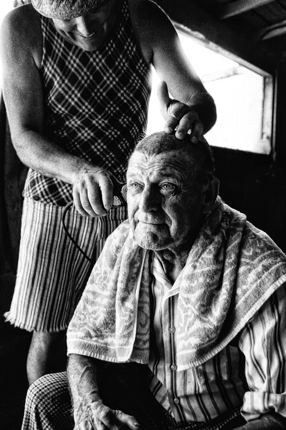 Old-Ranch-Hand-Gets-Buzz-Trim-Haircut-BW.jpg