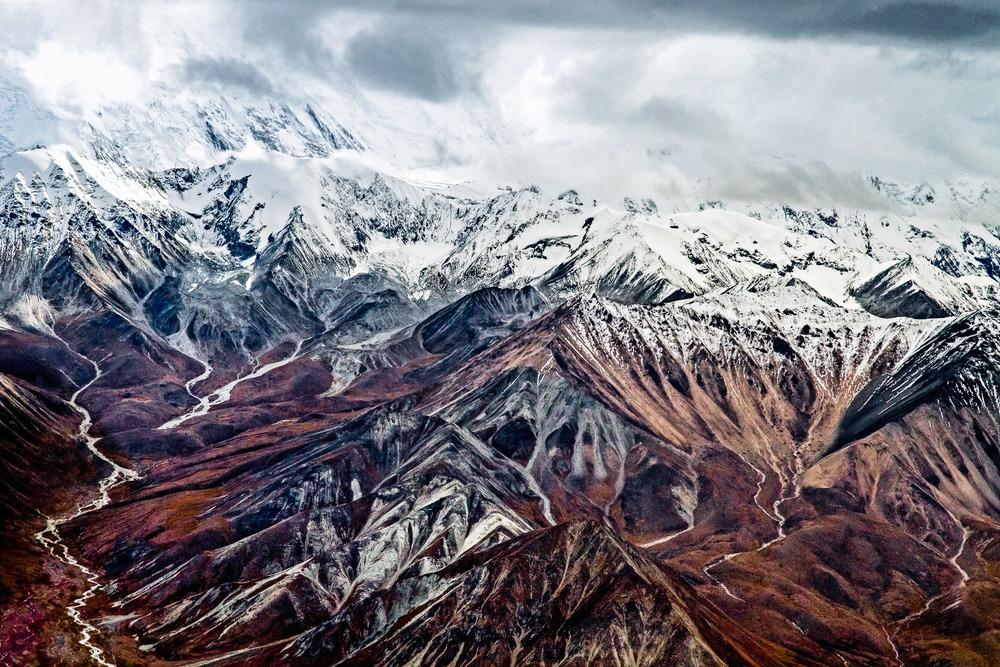 Denali And The Alaska Range Denali National Park, Alaska