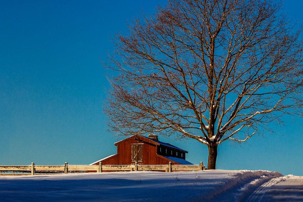Barn On The Hill Medway, Massachusetts