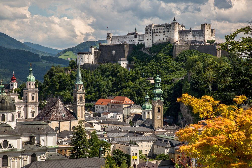 Castle On The Hill   Salzburg, Austria