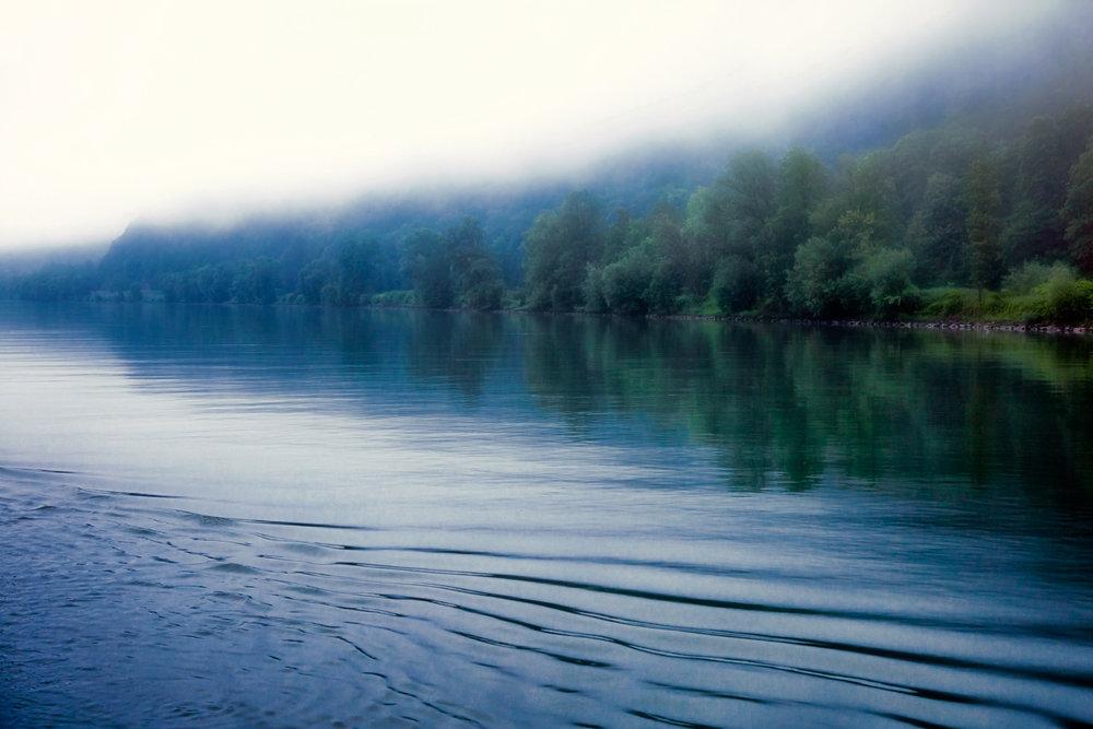 Fog On The Danube Passau, Germany