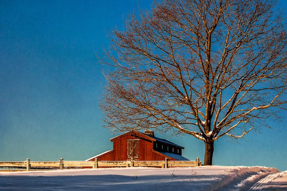 Barn On The Hill Natick, Massachusetts