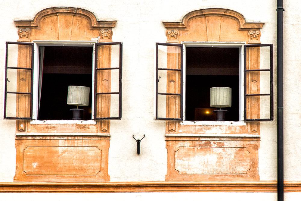 Window Twins Salzburg, Austria