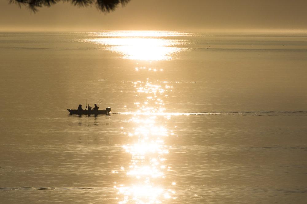 Sunrise Fishermen Saco Bay, Maine