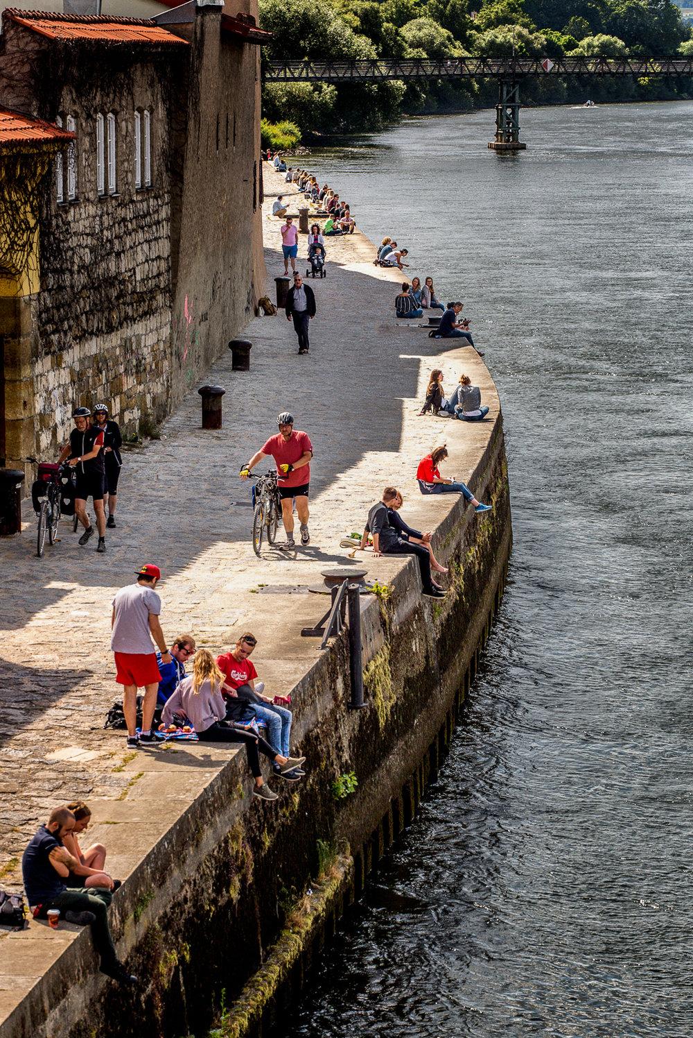 Best Seats On The Danube Regensburg, Germany