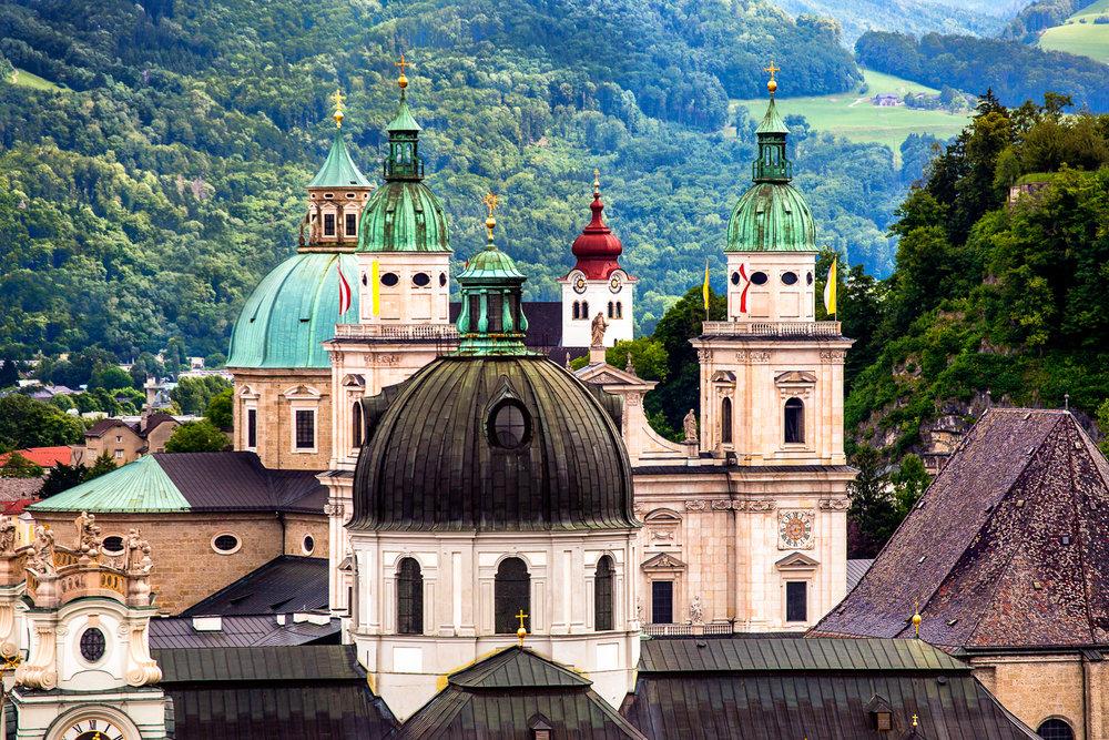 Towers Of Salzburg Salzburg, Austria