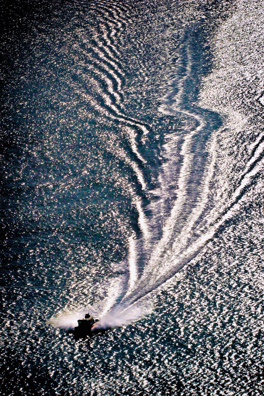Tracks of The Speedboat Worcester, Massachusetts