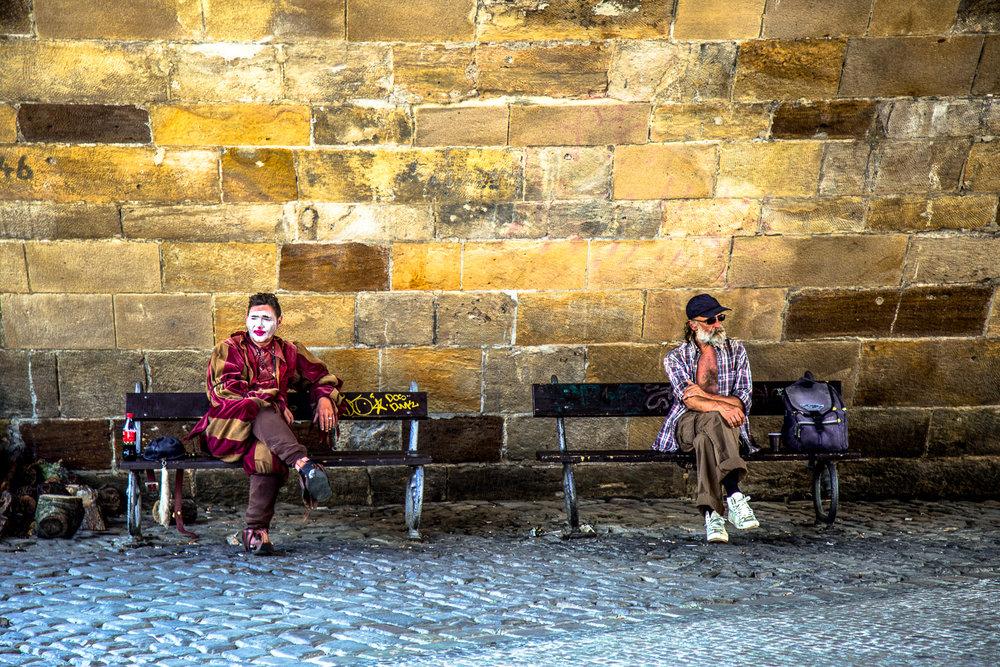 Jester And The Man Prague, Czech Republic