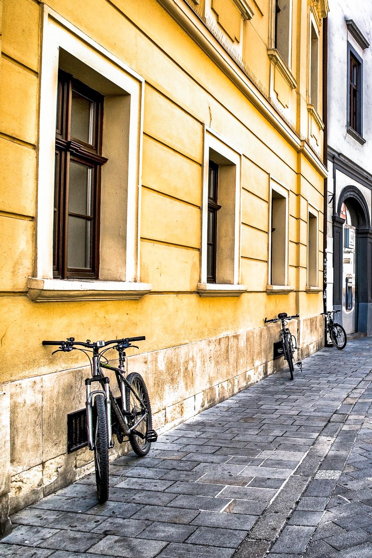 Bikes Against The Wall Bratislava, Slovakia