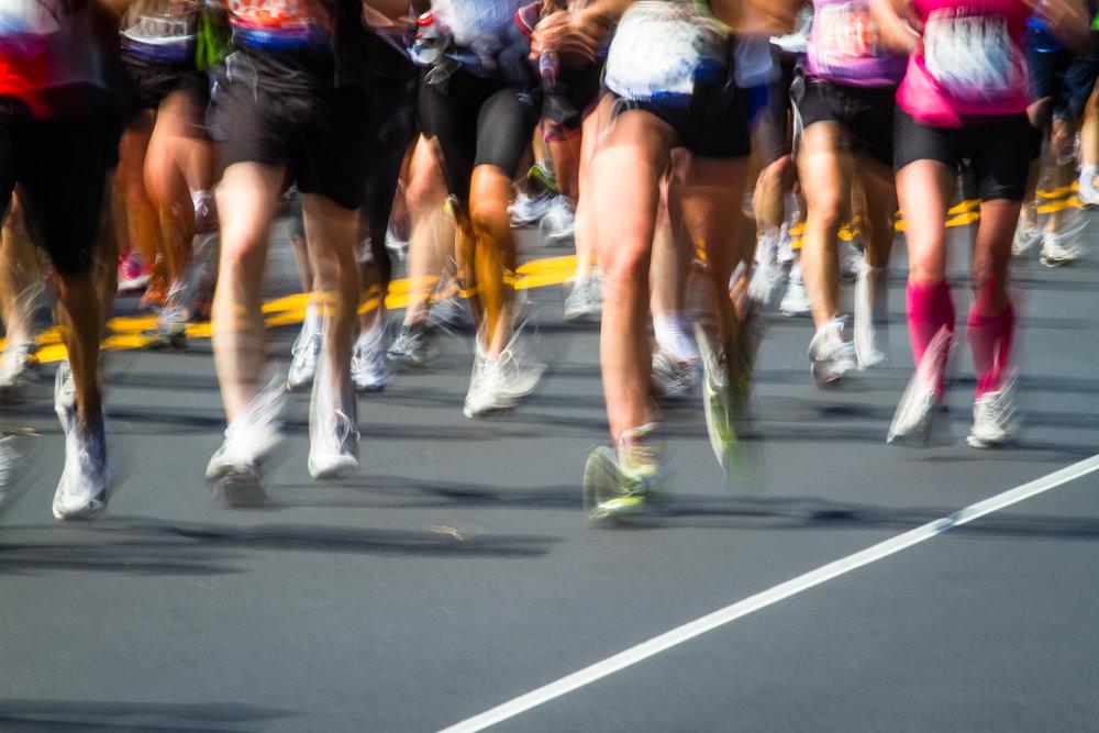 Marathon Legs In Motion Boston, Massachusetts