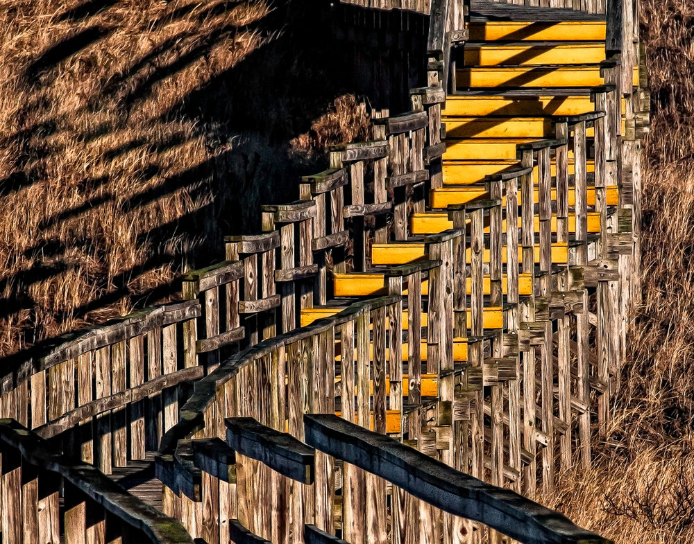Stairway To The Dunes Plum Island, Massachusetts