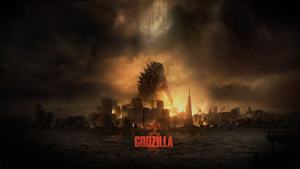 Godzilla 2014 Movie Poster © Warner Bros. & Toho Co.