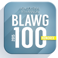 Selected by the ABA Journal as one of the top 100 legal blogs of 2015.