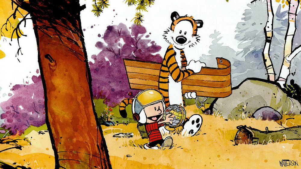 On Bill Watterson\'s Refusal To License Calvin and Hobbes — THE ...