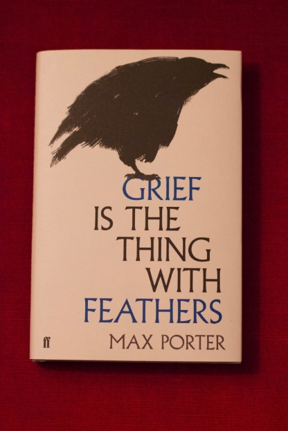 grief is the thing with feathers (review)//wanderaven