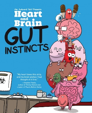 heart and brain: gut instincts (review)//wanderaven