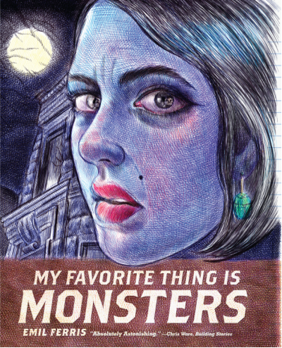 my favourite thing is monsters