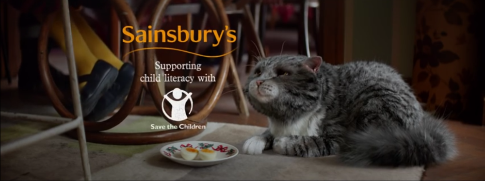 Sainsbury's Christmas Mog Judith Kerr Save The Children advert film Business Marketing