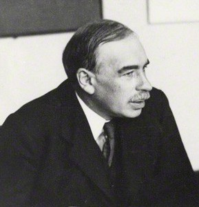 John Maynard Keynes, a mathematician and philosopher long before be became the father of modern macroeconomics.