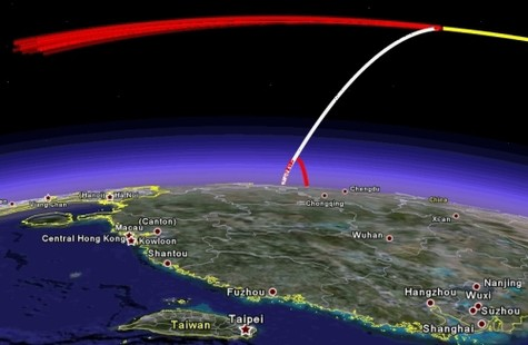 At 22:26 GMT, 11 January 2007, China slammed a kill vehicle into one of its dead metrological satellites, proving to the world that they were part of the small but unfortunately growing club of countries that can accomplish the difficult task of hypervelocity interceptions in space. As a signal to the world, this test highlighted both China's technological prowess and the fact that China will not quietly stand by while the United States tries to expand its influence in the region with new measures such as the US-India nuclear deal. We have analyzed the orbits of the debris from this interception and from that put limits on the properties of the interceptor. We find that not only can China threaten low Earth orbit satellites, but, by mounting the same interceptor on one of its rockets capable of lofting a satellite into geostationary orbit, all of the US communications satellites. (via  MIT Science, Technology, and Global Security Working Group )