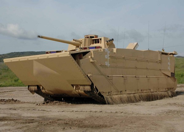 The canceled Expeditionary Fighting Vehicle (U.S. Marine Corps photo)