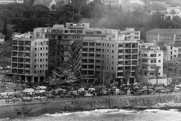 April 18, 1983, U.S. Embassy Beirut, Lebanon