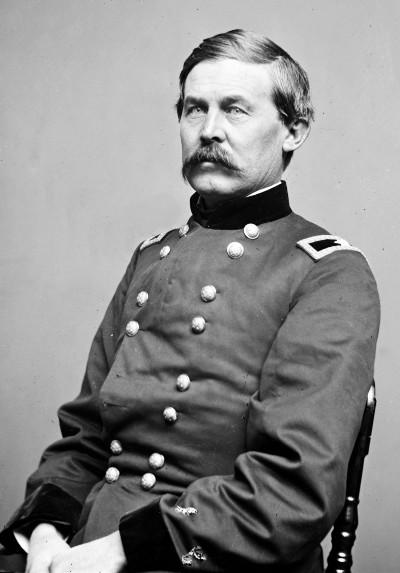 Portrait of Brigadier General John Buford, Jr. (Wikimedia Commons)