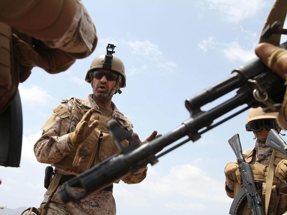 Saudi commanders assemble in Yemen's southern port city of Aden | Reuters