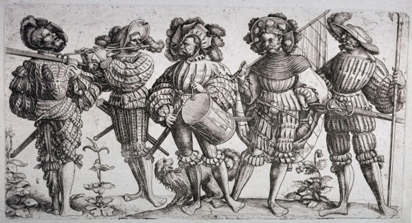 Landsknechte relied on massive two-handed swords, pikes, and beautiful music to rout their enemies.