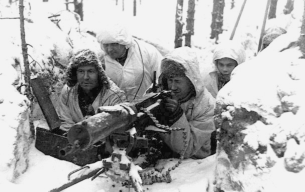Finnish soldiers during the Winter War. (Wikimedia Commons)
