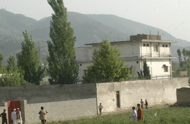 The objective of the raid in Abbottabad, Pakistan, where Osama bin Laden was found and killed. (Image via Wikimedia Commons)