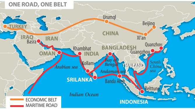 The Bridge - Map us foreign policy
