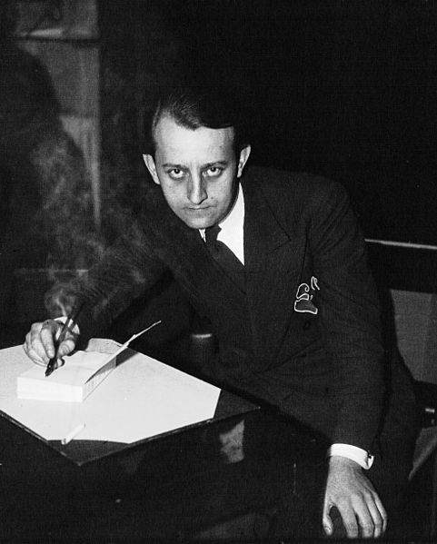 """To command is to serve, nothing more, nothing less."" André Malraux in 1933. (Public Domain)"