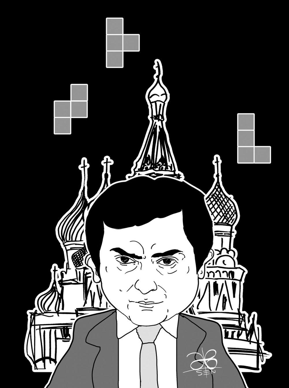 Vladislav Surkov portrait |Epohi Weekly