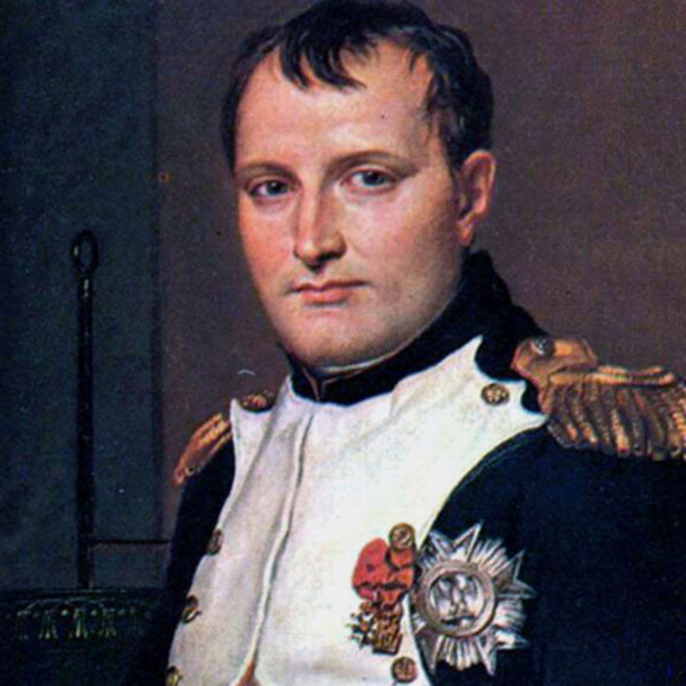 "Napoleon Bonaparte: ""The moral is to the physical as three to one."""