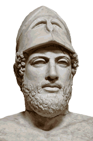 "Pericles of Athens: ""You cannot decline the burdens of empire and still expect to share its honors."""